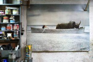 Atelier Clot, wall 1