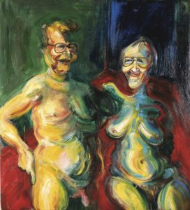 Portrait of Art Collectors John Hunov & Birthe Inge Christensen